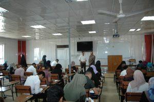 كلية الزراعة في جامعة كربلاء تبدأ الامتحانات النهائية للعام الدراسي 2016-2017 .