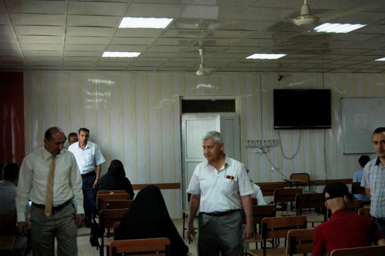 كلية الزراعة في جامعة كربلاء تجري اليوم الامتحان التنافسي لطلبة الدراسات العليا